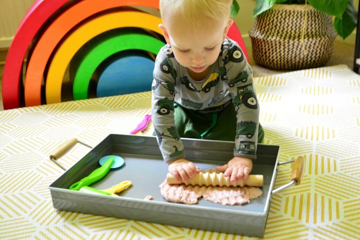 Play mat at How we Montessori