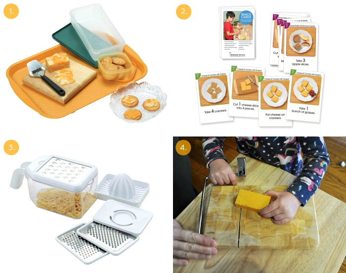 Cheese activities at How we Montessori practical life