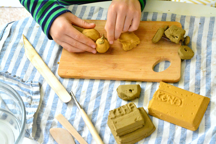 Allen Beeswax Clay at How we Montessori fine motor skills