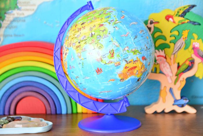 Ravensburger Puzzle Globe at How we Montessori