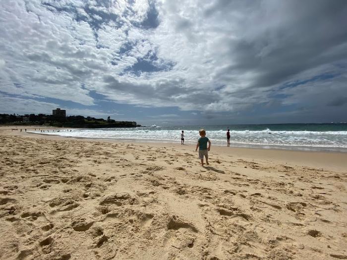 Beach at How we Montessori