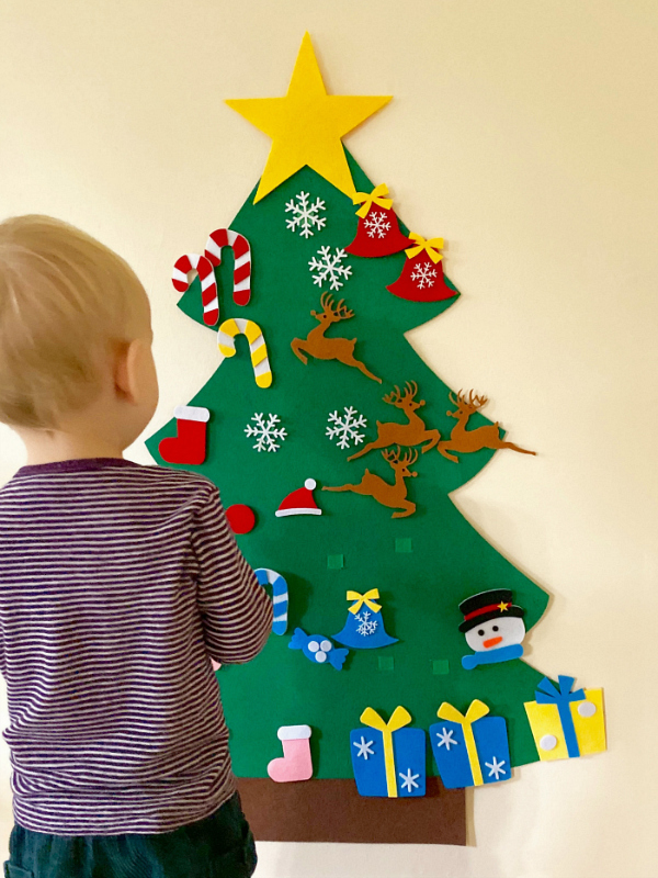 Toddler Friendly Christmas Trees How We Montessori
