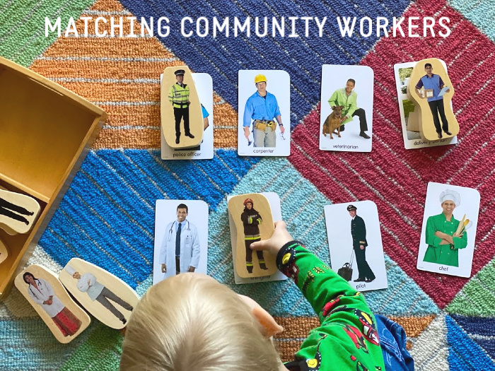 Matching Community Workers at How we Montessori (4)