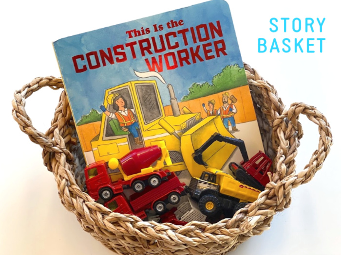 Construction Worker Basket at How we Montessori