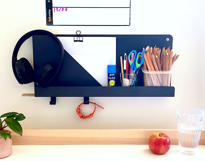 How we Montessori Otis' workstation homeschool 2020