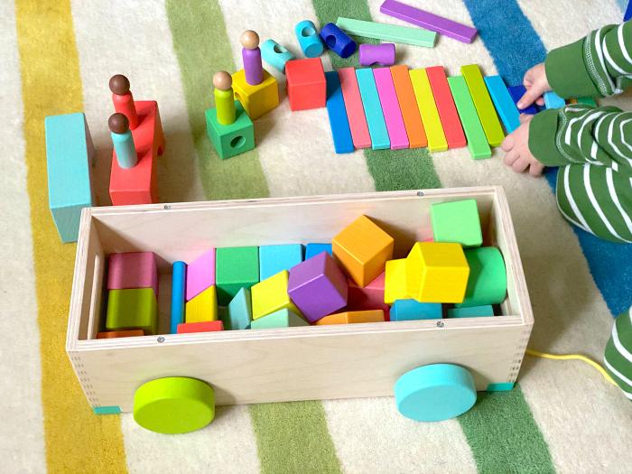 Lovevery Blocks at How we Montessori 2019