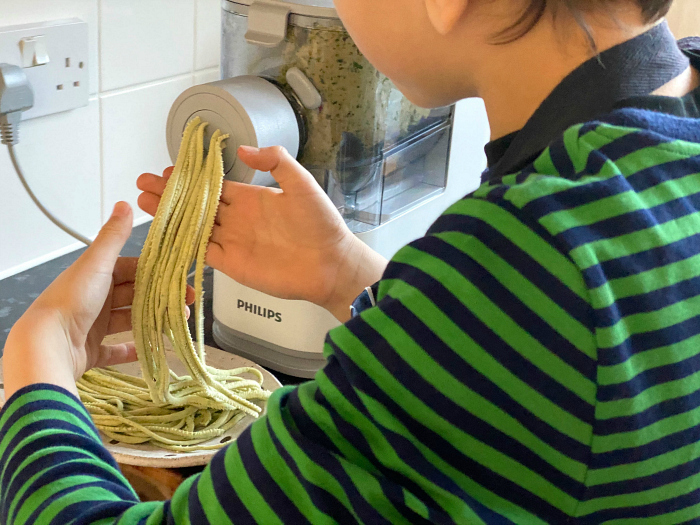 Home made pasta at how we montessori