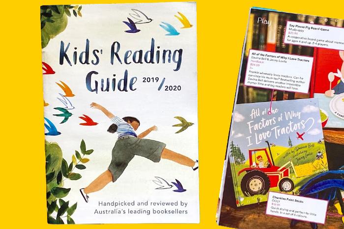 Kids' Reading Guide Australia at How we Montessori (1)