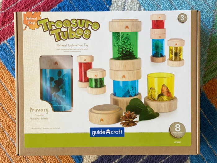 MTA Treasure Tubes at How we Montessori