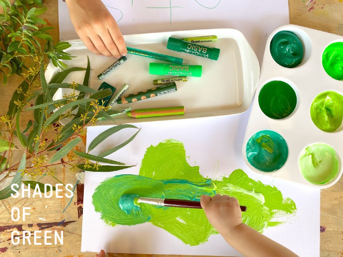 Shades of green at How we Montessori (1)