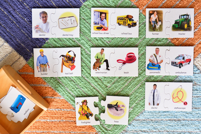 How we Montessori toddler puzzle matching community workers-2