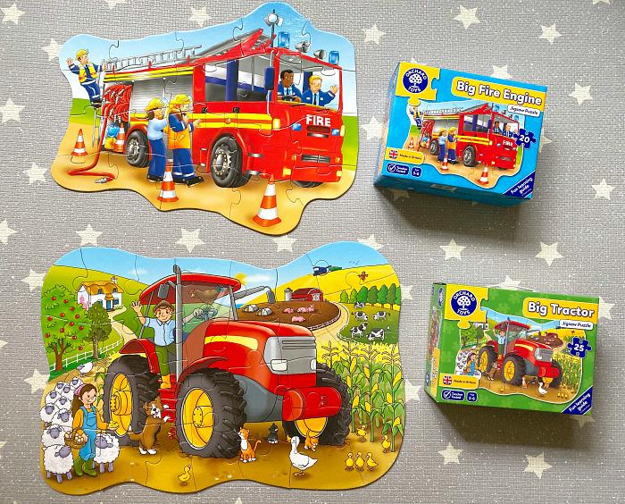Otto floor puzzle at How we Montessori toddler work