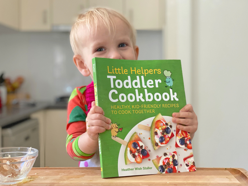 How we Montessori cooking with toddlers two year old cook book