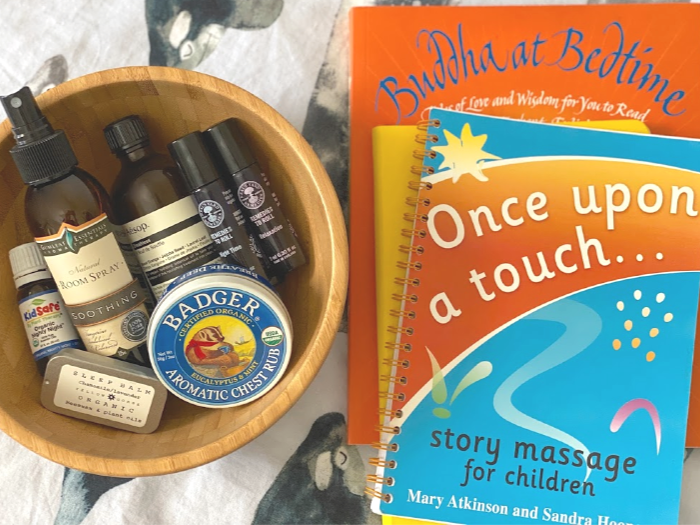 Connecting with children at bedtime at How we Montessori