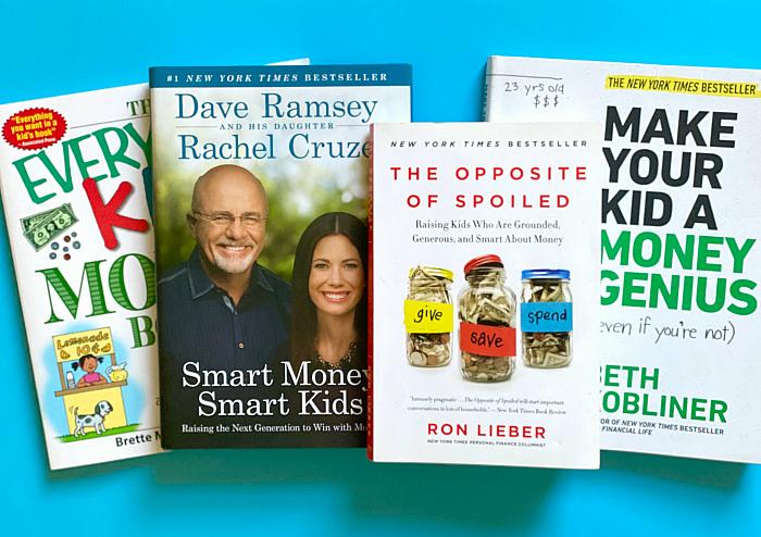 Money books about children at How we Montessori 2020