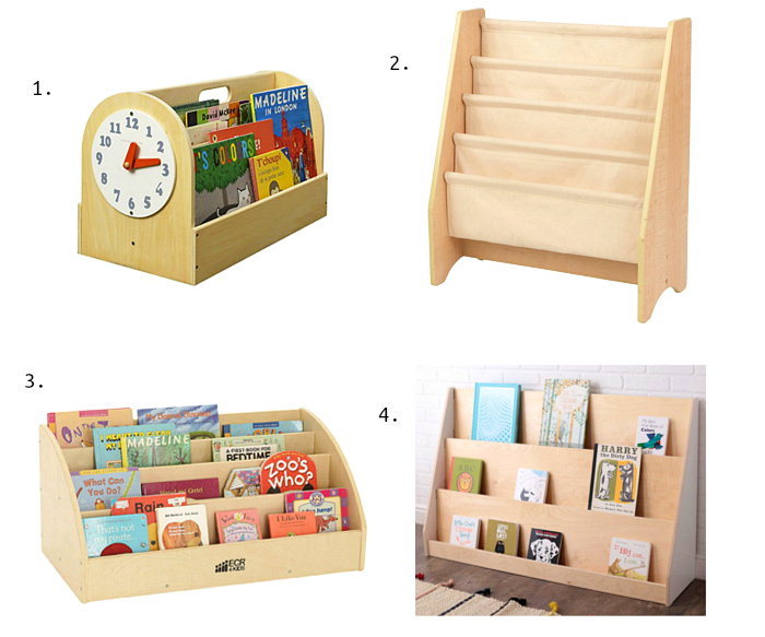 Toddler Book Shelves Forward Facing How we Montessori Picks