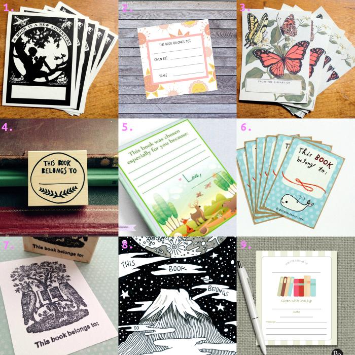 How we Montessori Picks Children's Book Plates