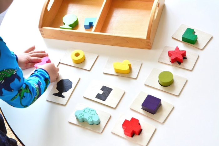 Touch and Feel Toys at How we Montessori   two year old Montessori toy