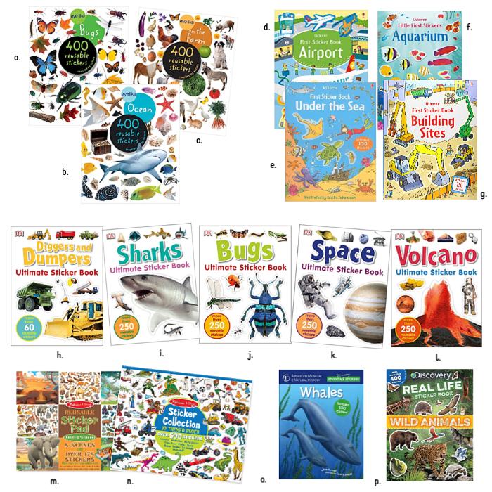 Realistic Sticker Books at How we Montessori