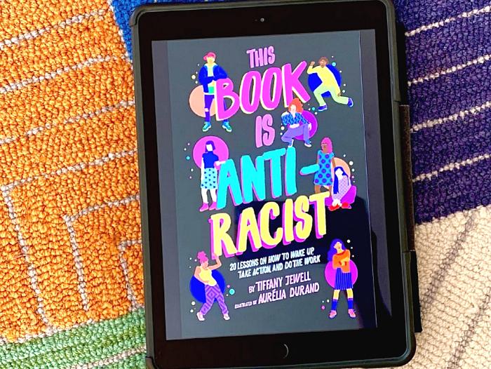 The Book is Anti-Racist Tiffany Jewell