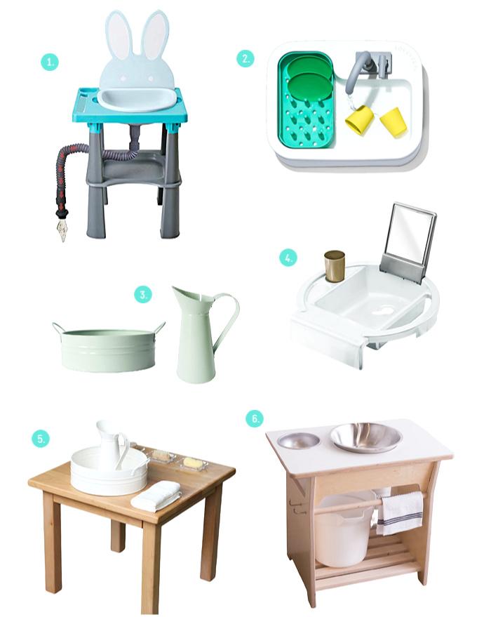Hand wash basins and stations at How we Montessori-2