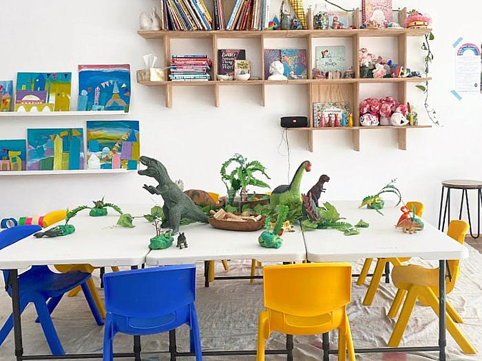 Little Ginger Art Studio kids art class Sydney at How we Montessori