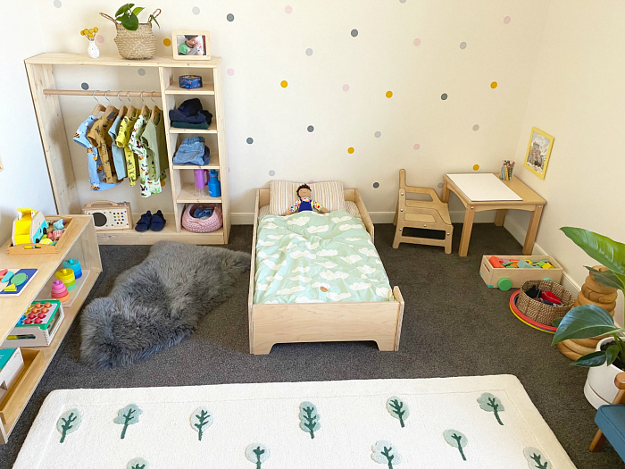 Montessori toddler room Sydney Australia two year old