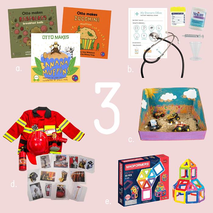 Montessori Gift ideas Otto three years old birthday at How we Montessori