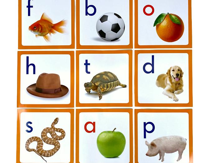 Alphabet frieze phonetic at How we Montessori