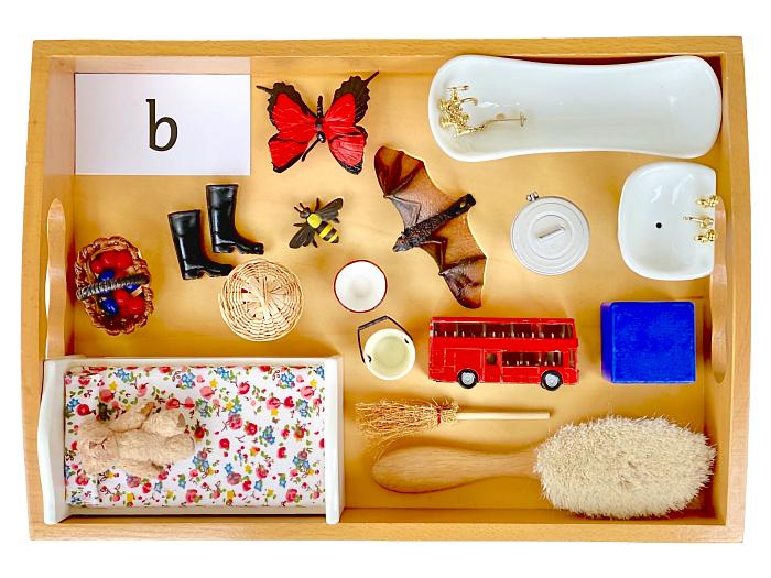 How we Montessori Sound Tray b