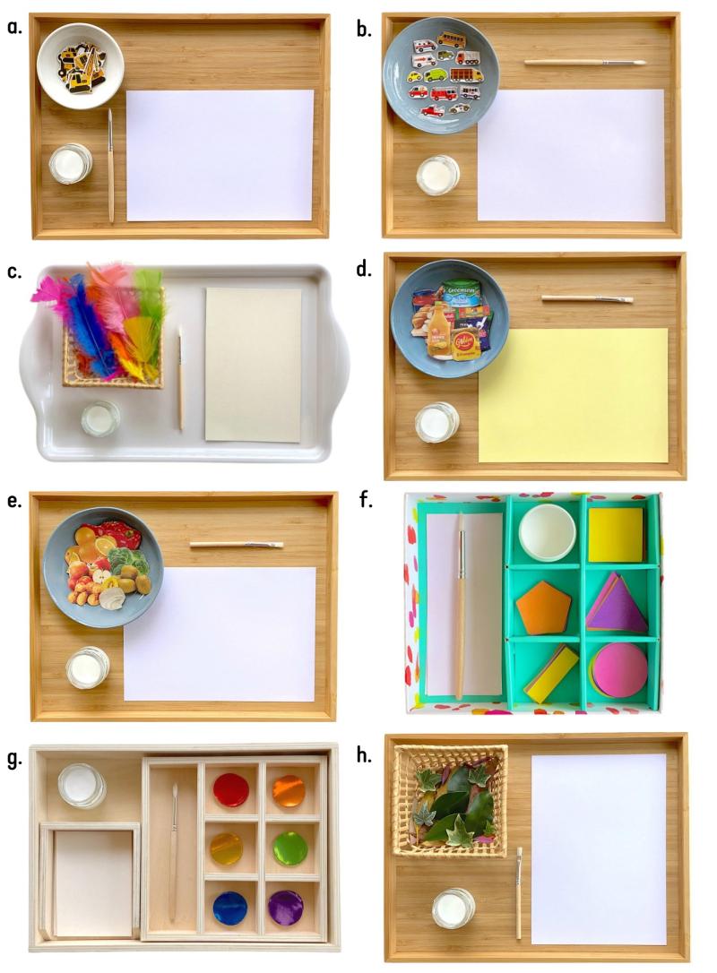 How we Montessori Pasting Ideas (1)