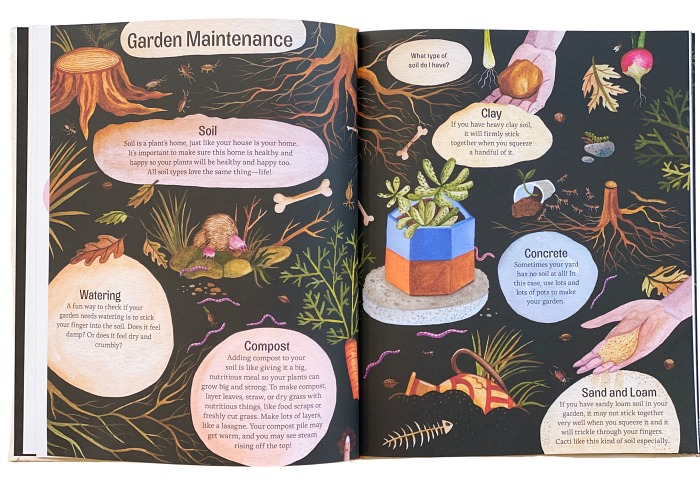 Easy Peasy Gardening with kids pages