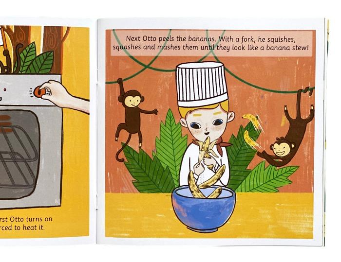 Story antics banana Otto at How we Montessori