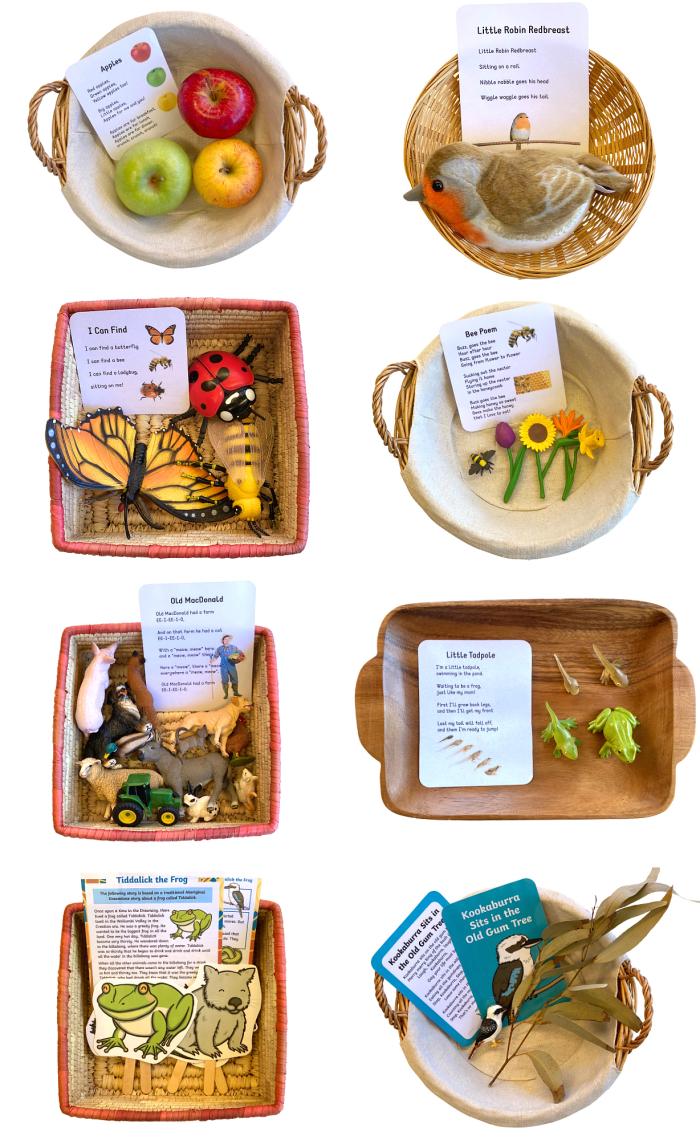 Poems and Stories to Memorise at three years How we Montessori