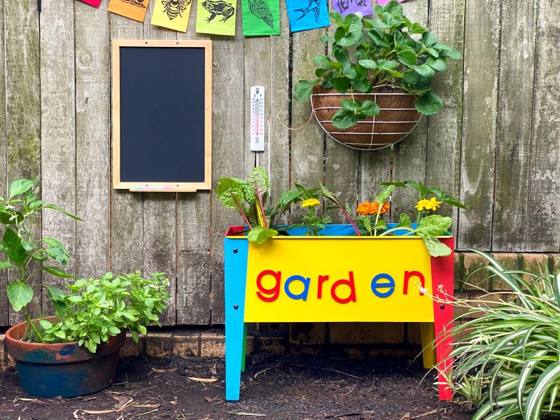 Children's Garden at How we Montessori