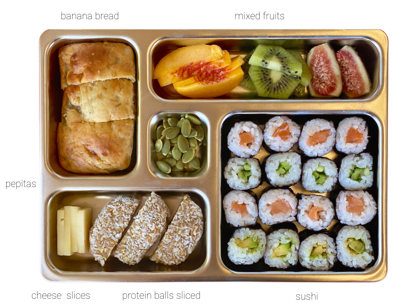 Planetbox lunchbox at how we montessori three year old