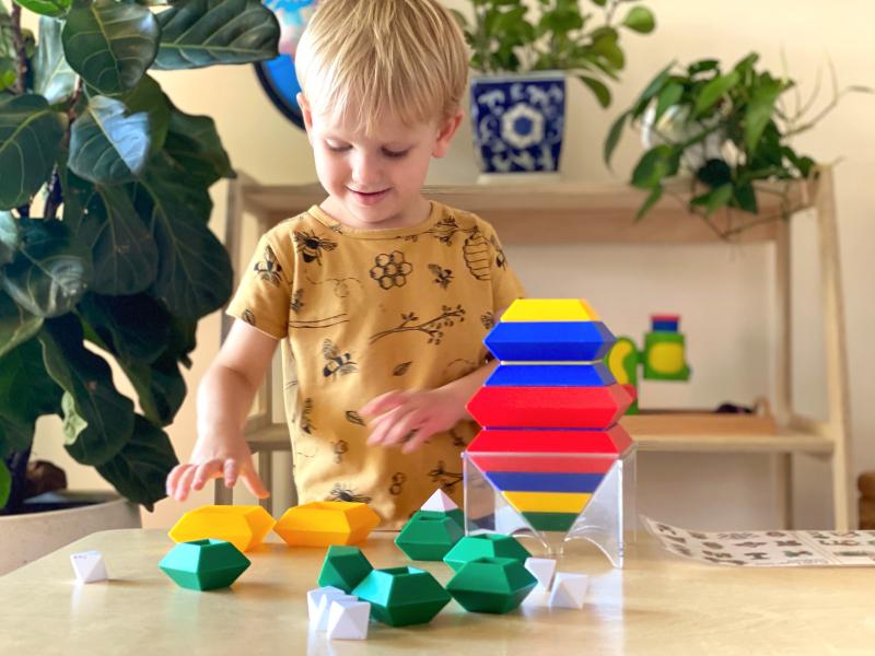 Wedgits at How we Montessori Australia
