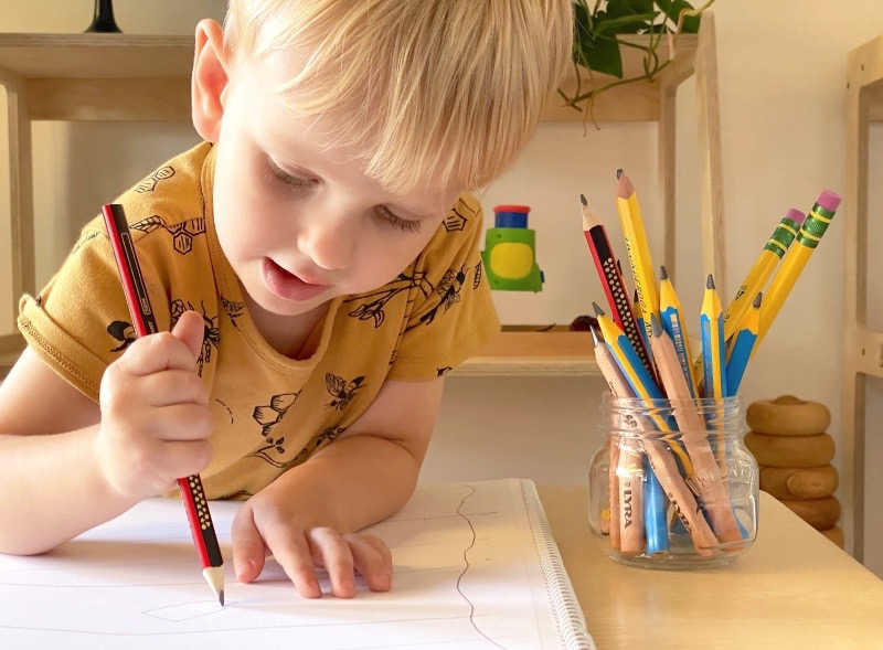 Best Kids Lead and Graphite Pencils for Beginners at How we Montessori