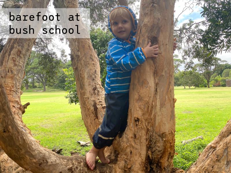 Otto Bush Forest School Sydney at How we Montessori barefoot Feb (1)