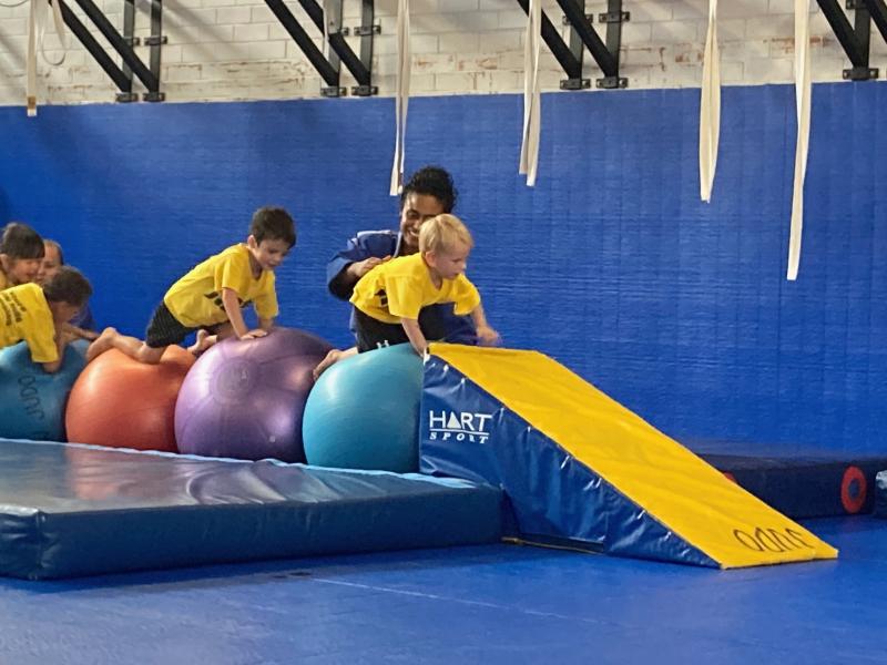 Otto judo class at How we Montessori
