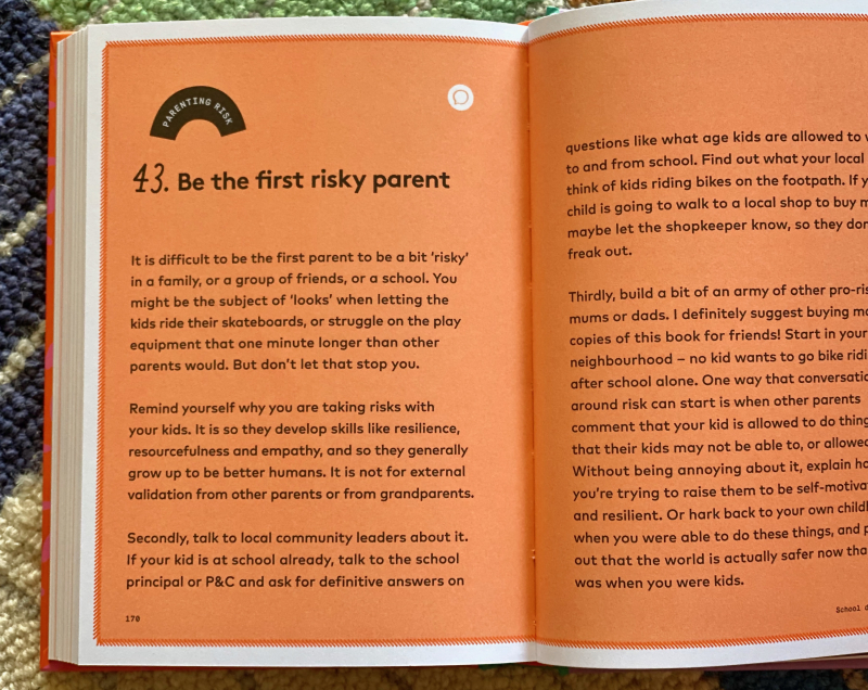 50 risks to take with your children  Daisy Turnbull 2021