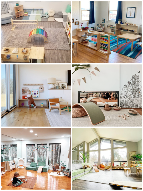 Wow Montessori Spaces Home and Classroom