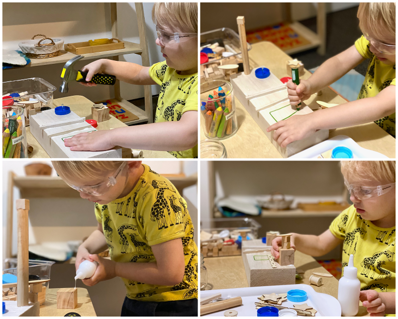 How we Montessori woodworking early learning  (2)