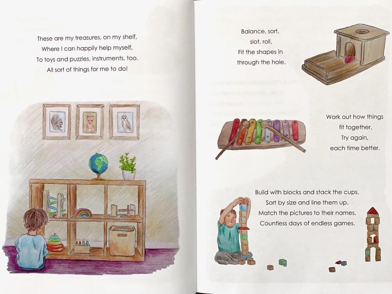 The Little Me Montessori book at How we Montessori (2)