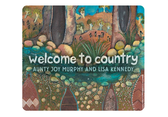 Welcome to country board bookat How we Montessori