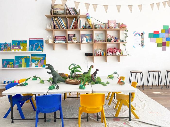 Little Ginger Art Studio at How we Montessori #1