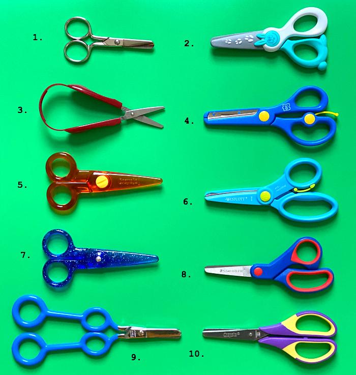 How we Montessori Best Scissors for Toddlers