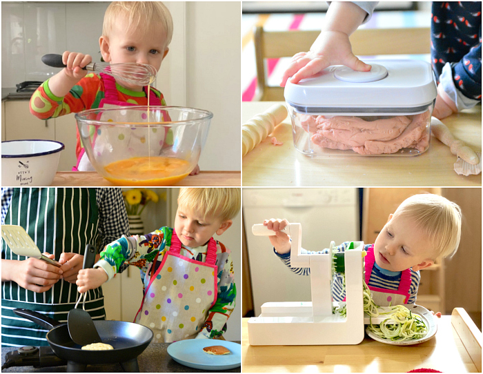 Kids kitchen tools at How we Montessori OXO