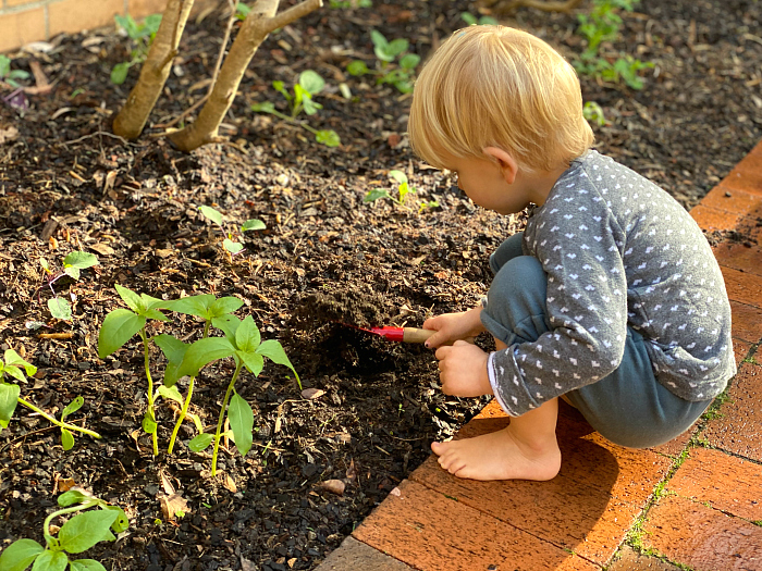 International Day of Mud at How we Montessori  Toddler Mud Play