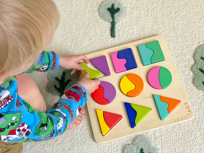Part whole two piece puzzles at How we Montessori by Lovevery